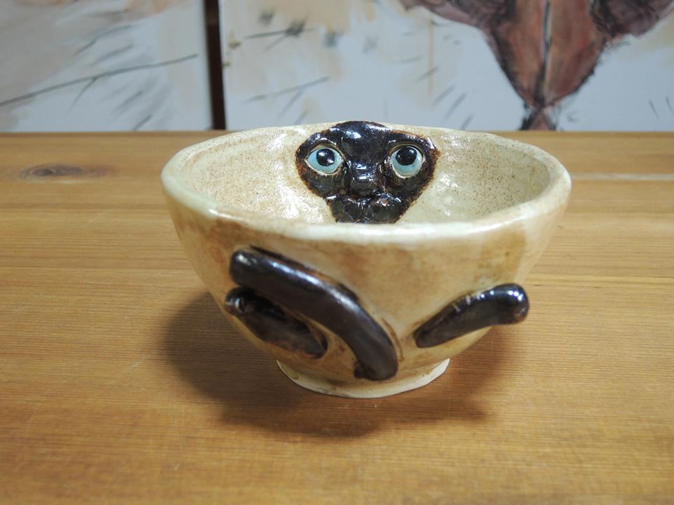 シャム猫の覗き見器